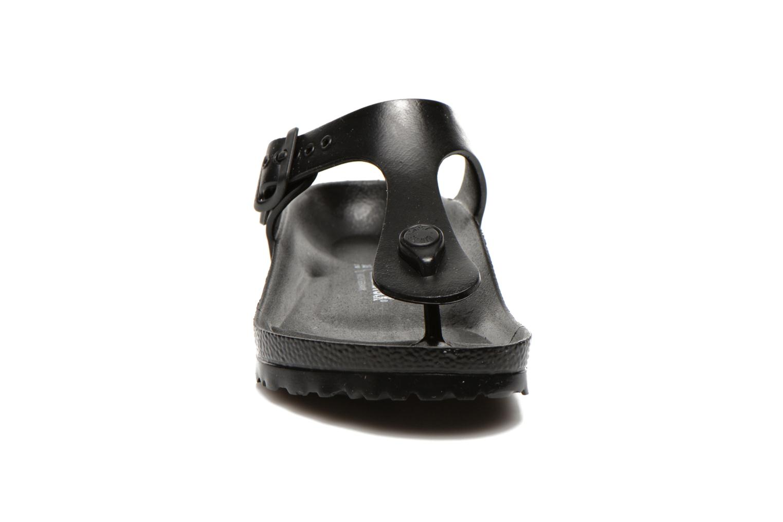 Sandals Birkenstock Gizeh EVA W Black model view