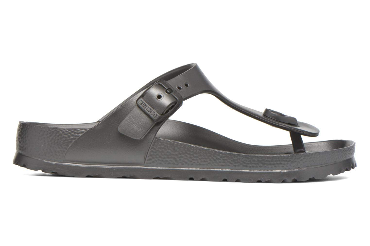Sandals Birkenstock Gizeh EVA W Grey back view
