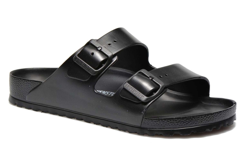 Sandales et nu-pieds Birkenstock Arizona EVA M Noir vue détail/paire