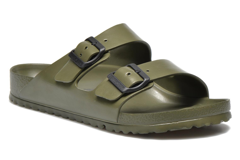 Sandales et nu-pieds Birkenstock Arizona EVA M Vert vue détail/paire