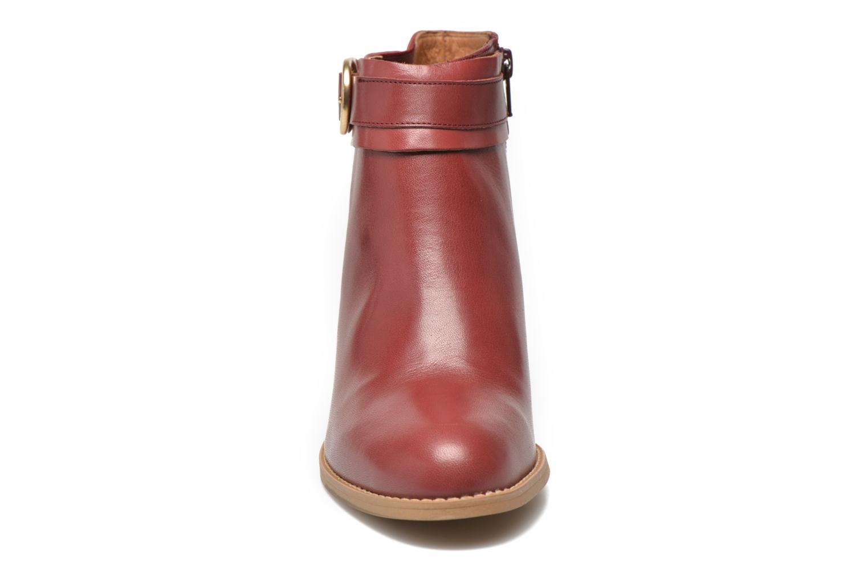Bottines et boots Georgia Rose Eperdrix Bordeaux vue portées chaussures