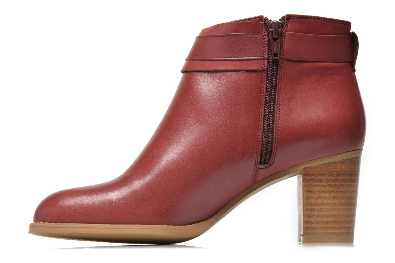 Bottines et boots Georgia Rose Eperdrix Bordeaux vue face