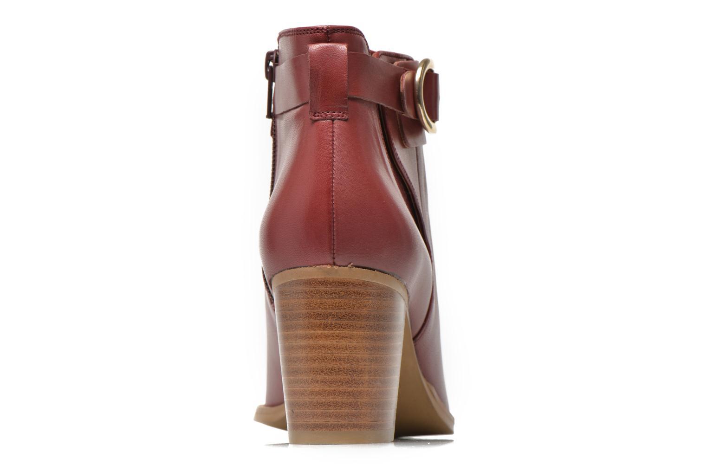 Bottines et boots Georgia Rose Eperdrix Bordeaux vue droite