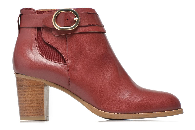 Bottines et boots Georgia Rose Eperdrix Bordeaux vue derrière
