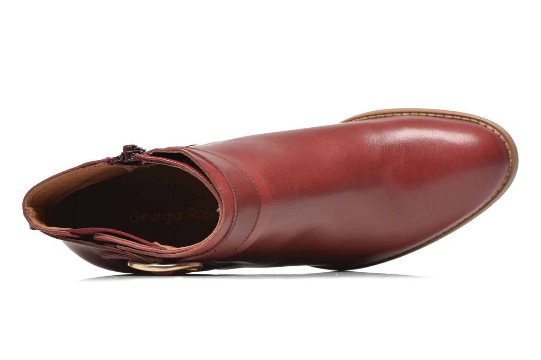 Stiefeletten & Boots Georgia Rose Eperdrix weinrot ansicht von links