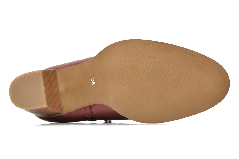 Stiefeletten & Boots Georgia Rose Eperdrix weinrot ansicht von oben