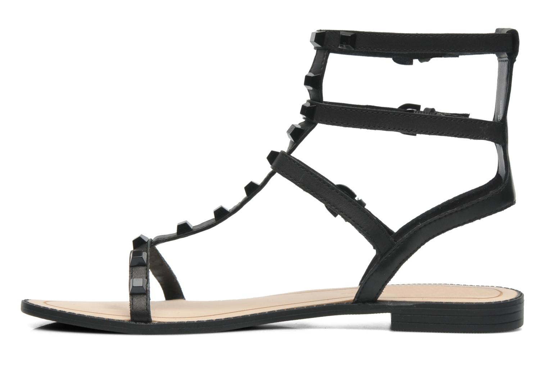 Sandales et nu-pieds Rebecca Minkoff Georgina Noir vue face