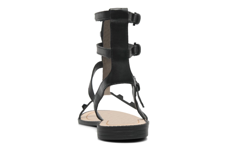 Sandales et nu-pieds Rebecca Minkoff Georgina Noir vue droite
