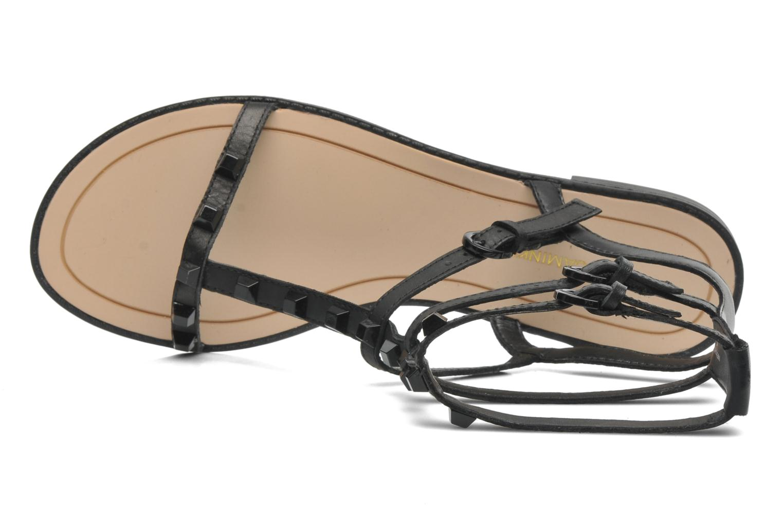 Sandales et nu-pieds Rebecca Minkoff Georgina Noir vue gauche