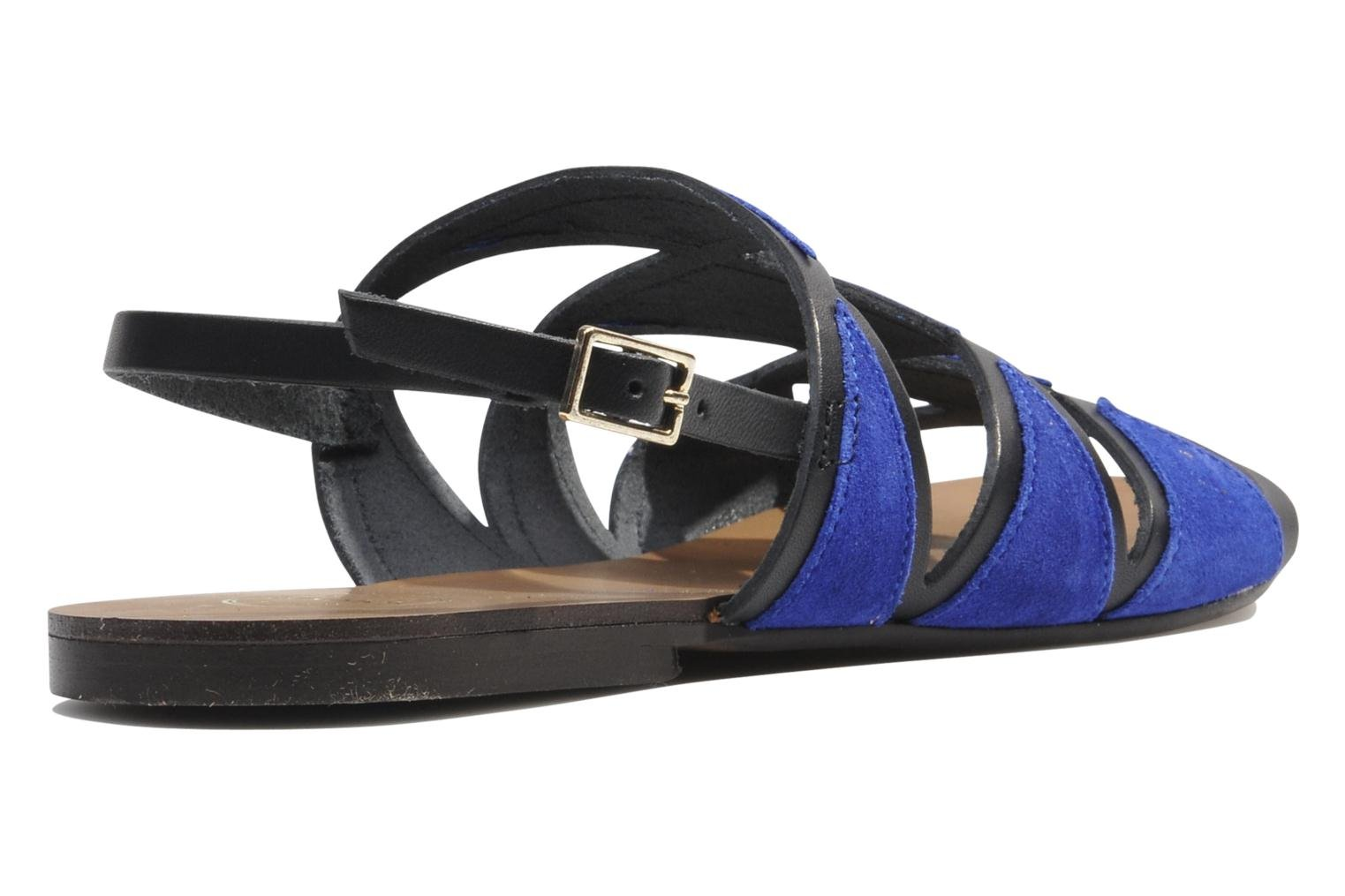 Sandals Made by SARENZA Nairobi #1 Blue front view