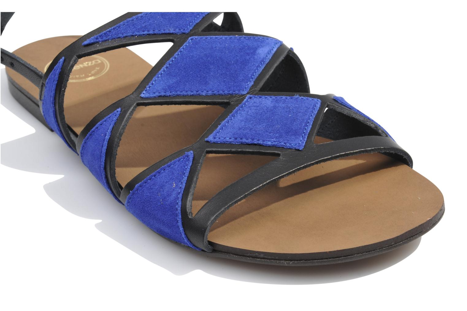Sandals Made by SARENZA Nairobi #1 Blue view from above