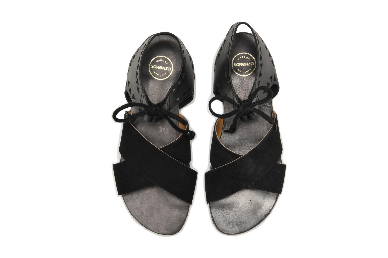 Sandalias Made by SARENZA Nairobi #2 Negro vista del modelo
