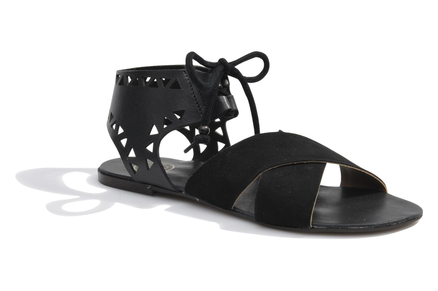 Sandals Made by SARENZA Nairobi #2 Black view from the right