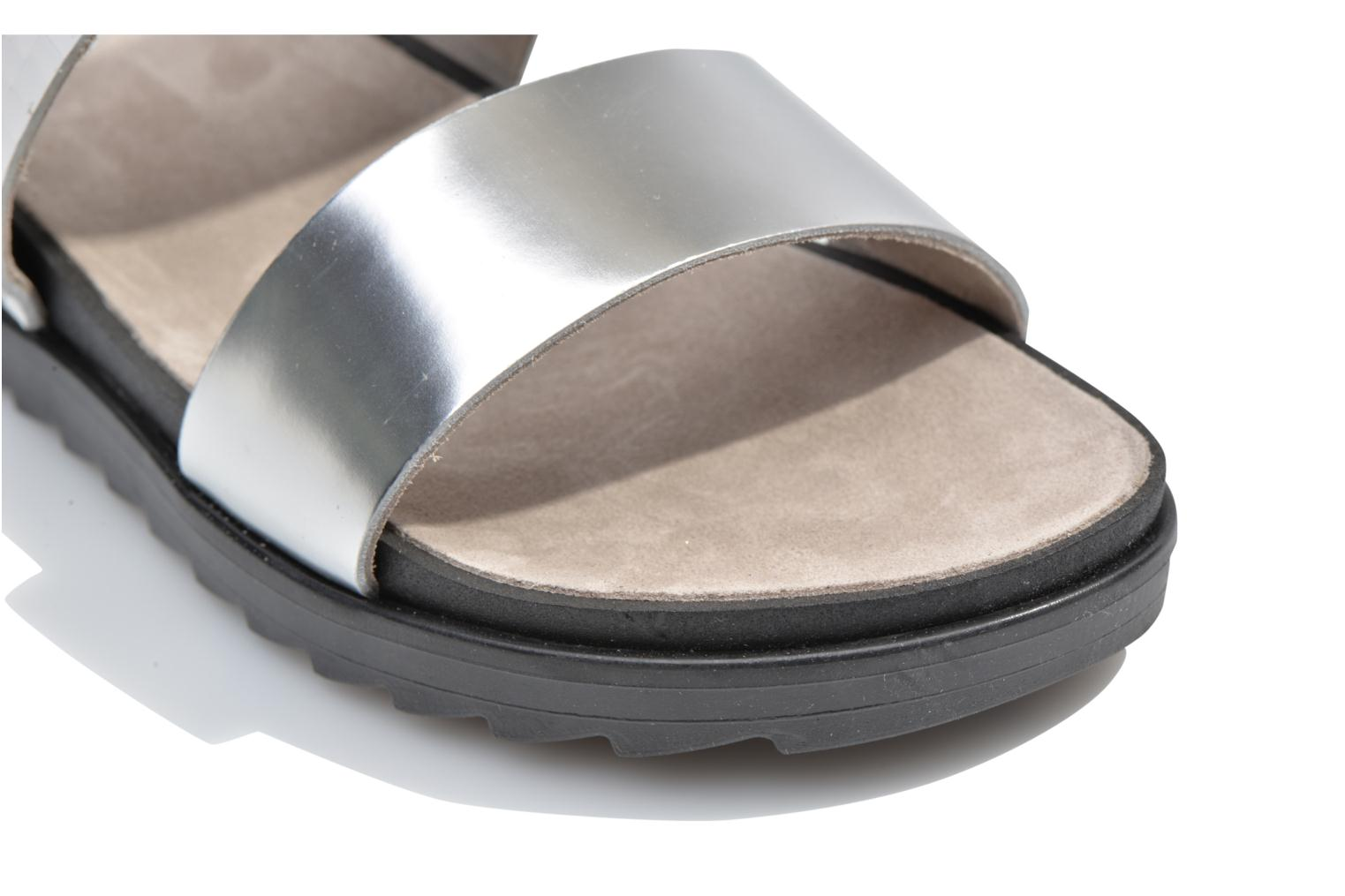 Mules & clogs Made by SARENZA Ping Pong #4 Silver view from above