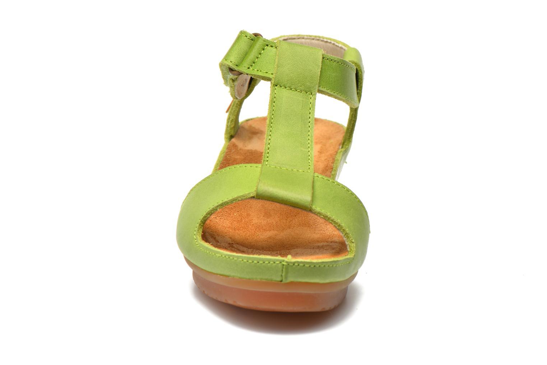 Sandales et nu-pieds El Naturalista Code ND21 Vert vue portées chaussures