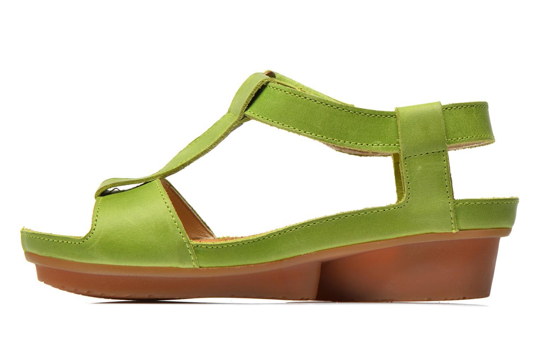 Sandales et nu-pieds El Naturalista Code ND21 Vert vue face