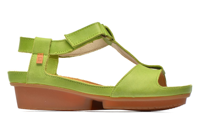 Sandales et nu-pieds El Naturalista Code ND21 Vert vue derrière