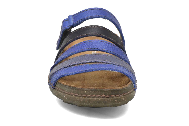 Clogs & Pantoletten El Naturalista Torcal N327 blau schuhe getragen