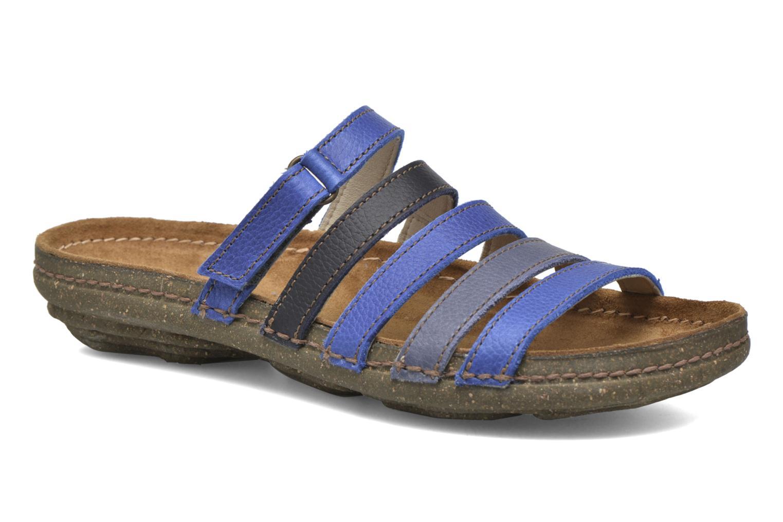 Clogs & Pantoletten El Naturalista Torcal N327 blau detaillierte ansicht/modell