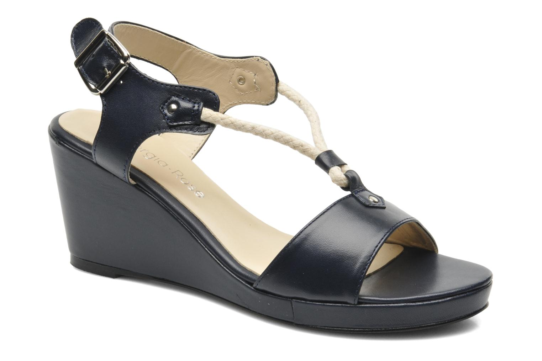 Sandales et nu-pieds Georgia Rose Sarty Bleu vue détail/paire