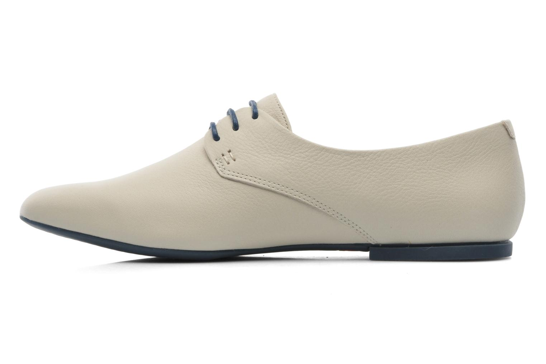 Chaussures à lacets Camper Isadora 22567 Beige vue face