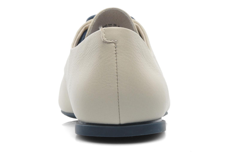 Chaussures à lacets Camper Isadora 22567 Beige vue droite