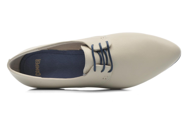 Chaussures à lacets Camper Isadora 22567 Beige vue gauche