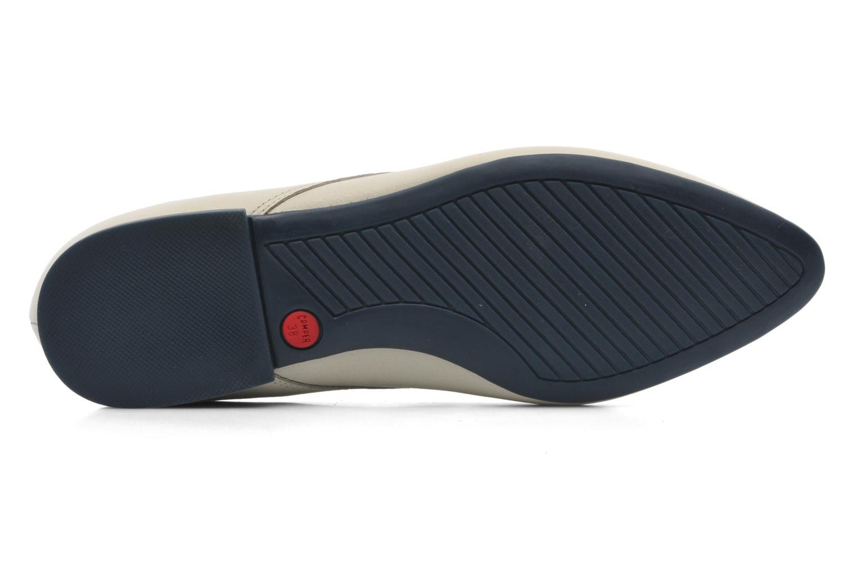 Chaussures à lacets Camper Isadora 22567 Beige vue haut