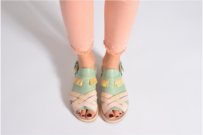 Sandales et nu-pieds Camper TWS 22606 Multicolore vue bas / vue portée sac
