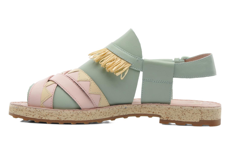 Sandales et nu-pieds Camper TWS 22606 Multicolore vue face