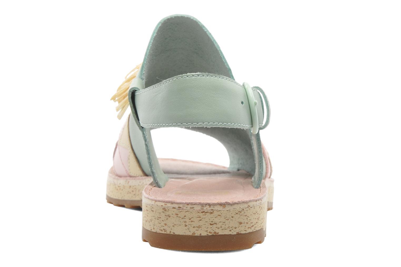 Sandales et nu-pieds Camper TWS 22606 Multicolore vue droite
