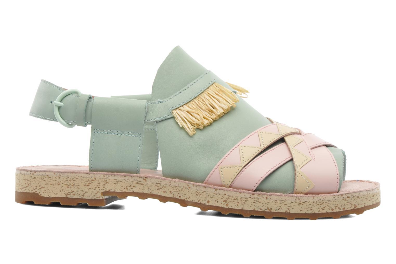 Sandales et nu-pieds Camper TWS 22606 Multicolore vue derrière