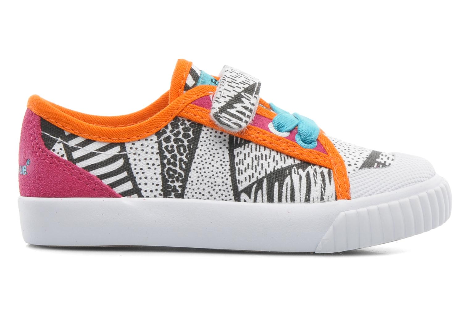 FE LO II CANVAS EZ TRIBAL TRIBAL PRINT PINK / WHITE / BLACK/ ORAN