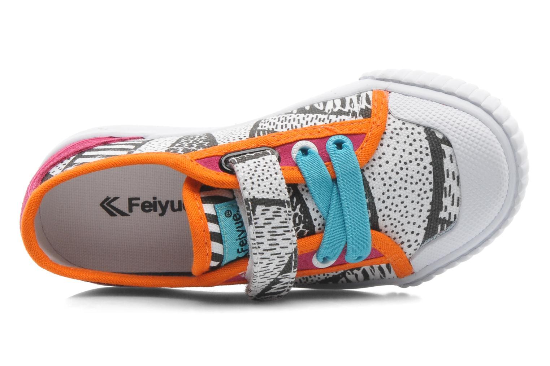 Baskets Feiyue FE LO II CANVAS EZ TRIBAL Multicolore vue gauche