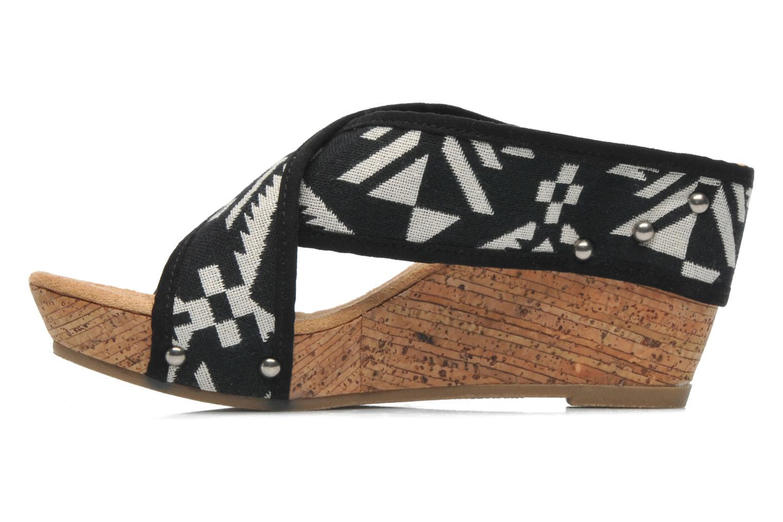 Sandali e scarpe aperte Minnetonka Lainey Nero immagine frontale