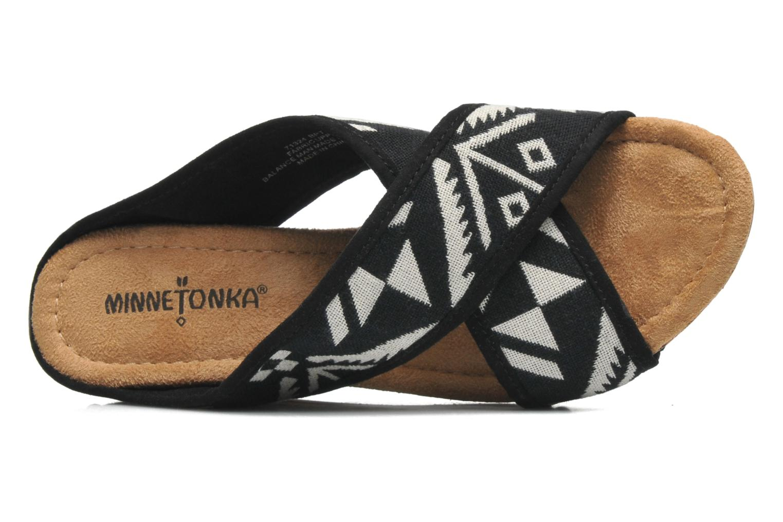 Sandali e scarpe aperte Minnetonka Lainey Nero immagine sinistra
