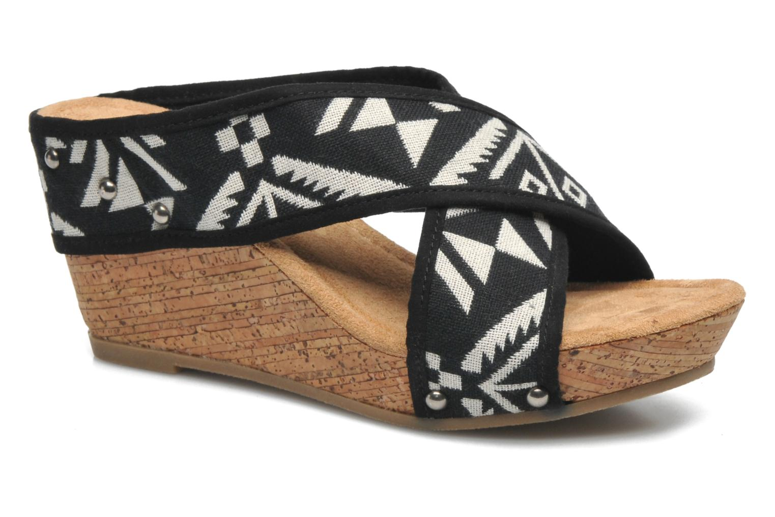 Lainey Black tierra print