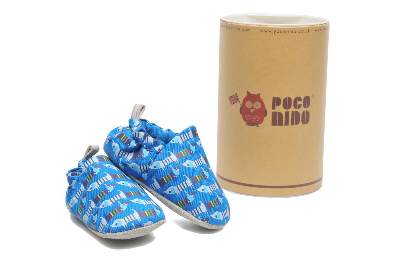Pantofole Poco Nido RAINBOW SAUSAGE DOG Azzurro immagine 3/4
