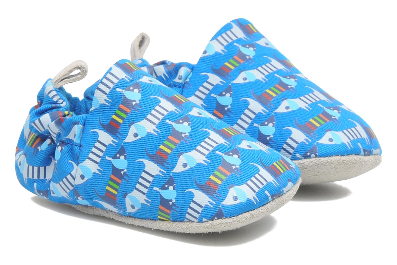 Pantofole Poco Nido RAINBOW SAUSAGE DOG Azzurro vedi dettaglio/paio