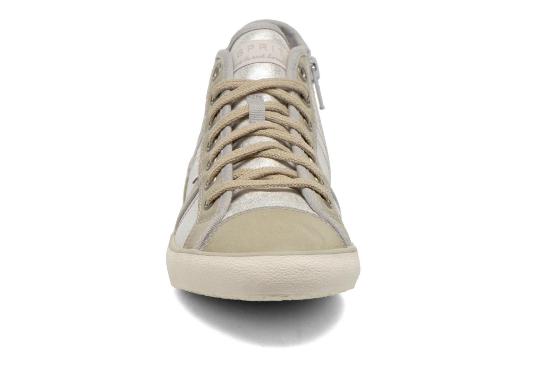 Baskets Esprit Megina Bootie 024 Argent vue portées chaussures