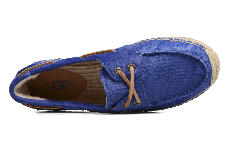 Corris Calf Hair Scales Marine Blue