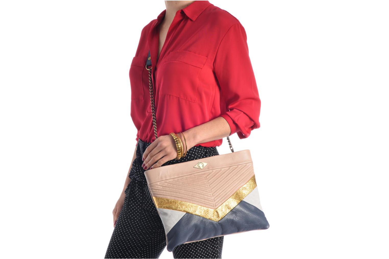 Handtaschen Mohekann Cassidy mehrfarbig ansicht von oben