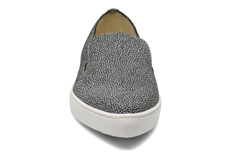 Baskets Fabio Rusconi Cosmos Noir vue portées chaussures