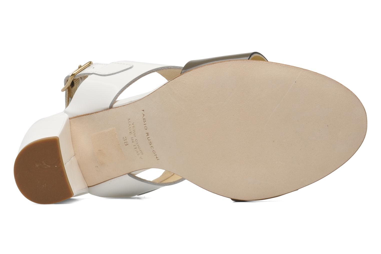 Sandals Fabio Rusconi Myosotis White view from above