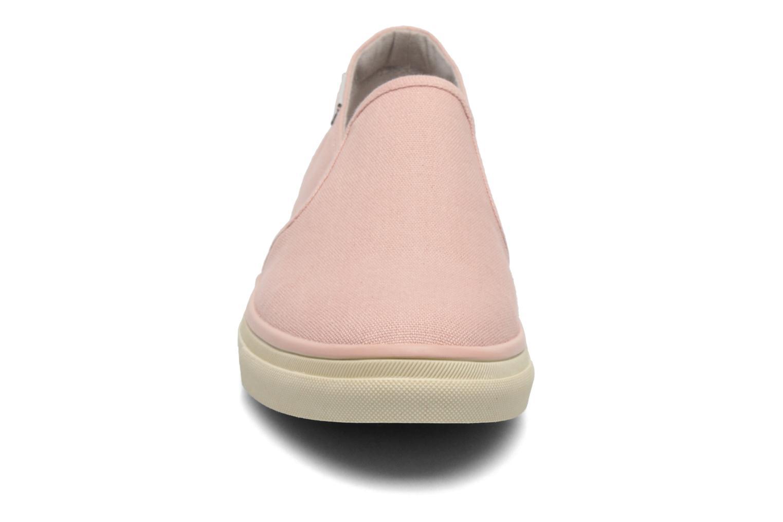 Baskets Esprit Yendis slip on 040 Rose vue portées chaussures