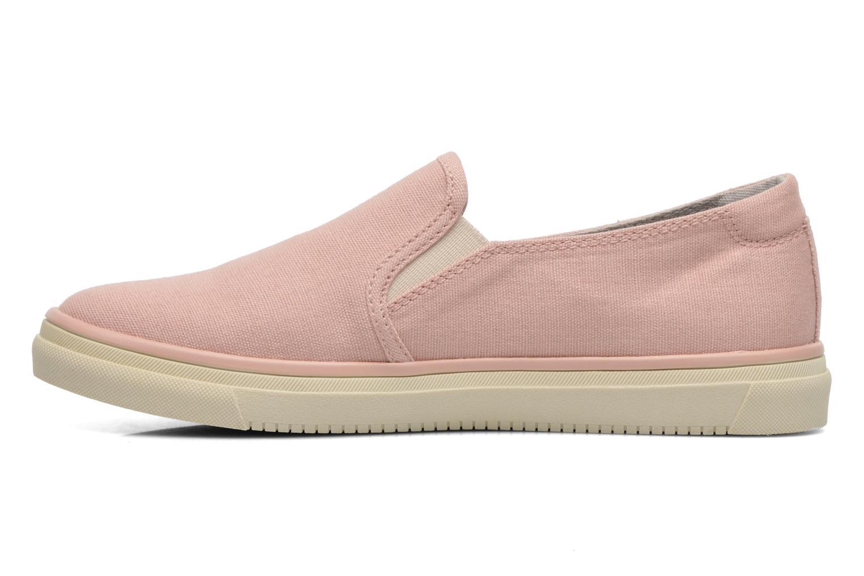 Sneakers Esprit Yendis slip on 040 Roze voorkant