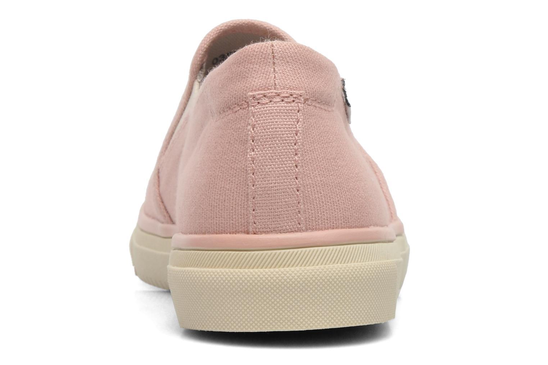 Sneakers Esprit Yendis slip on 040 Roze rechts
