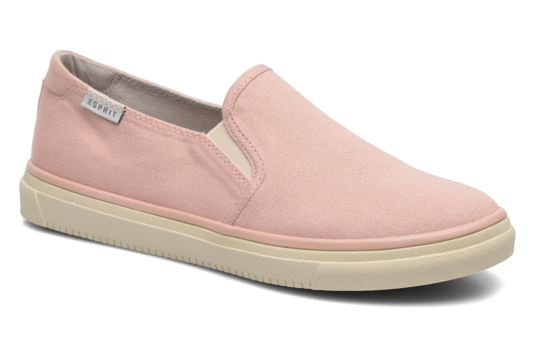 Sneakers Esprit Yendis slip on 040 Roze detail
