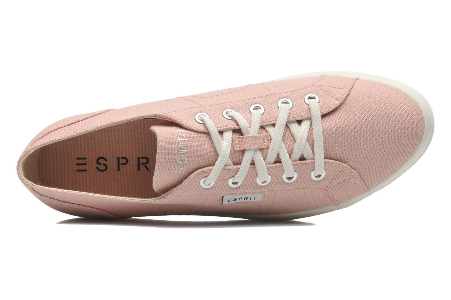 Sneakers Esprit Starry Lace up 045 Rosa immagine sinistra