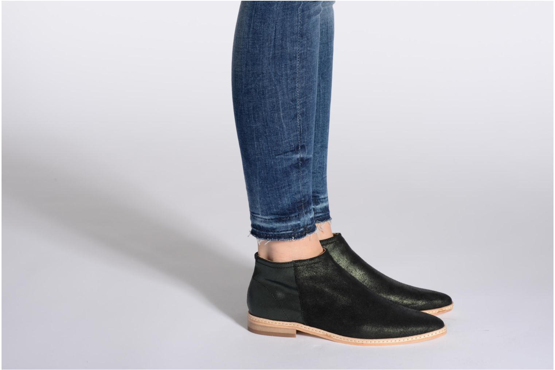 Stiefeletten & Boots H By Hudson Shift schwarz ansicht von unten / tasche getragen
